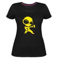 Жіноча стрейчева футболка Інопланетянин