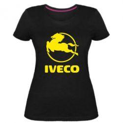Женская стрейчевая футболка IVECO