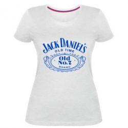 Женская стрейчевая футболка Jack Daniel's Old Time