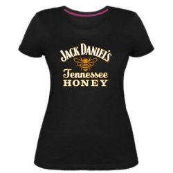 Женская стрейчевая футболка Jack Daniel's Tennessee Honey