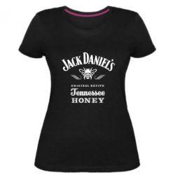 Женская стрейчевая футболка Jack Daniels Tennessee