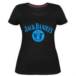 Женская стрейчевая футболка Jack