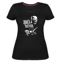 Женская стрейчевая футболка James Hetfield