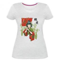 Жіноча стрейчева футболка Japanese