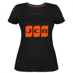 Жіноча стрейчева футболка JCB 2