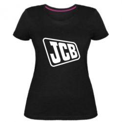 Жіноча стрейчева футболка JCB