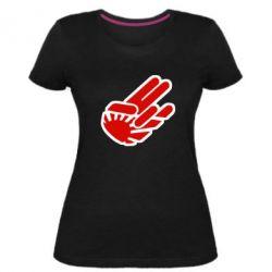 Женская стрейчевая футболка JDM Arm