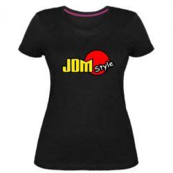 Женская стрейчевая футболка JDM Style
