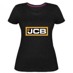 Жіноча стрейчева футболка Jgb logo2