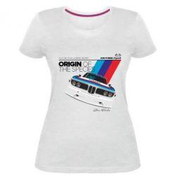 Женская стрейчевая футболка Jon Forde Legends - FatLine