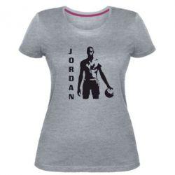 Жіноча стрейчева футболка Jordan