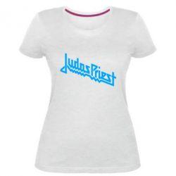 Жіноча стрейчева футболка Judas Priest Logo