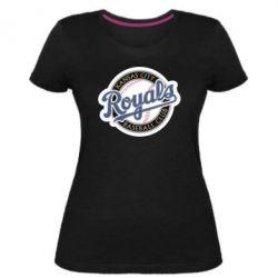 Жіноча стрейчева футболка Kansas City Royals