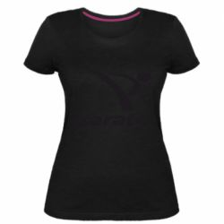 Женская стрейчевая футболка Karate