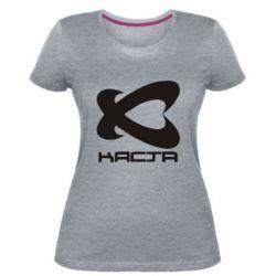 Женская стрейчевая футболка Каста