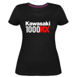 Жіноча стрейчева футболка Kawasaki 1000RX
