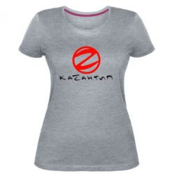 Женская стрейчевая футболка Казантип