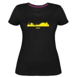 Женская стрейчевая футболка KIEV - FatLine