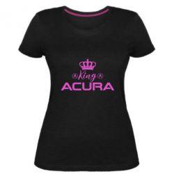 Жіноча стрейчева футболка King acura