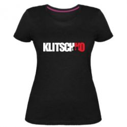 Жіноча стрейчева футболка Klitschko