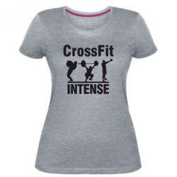 Жіноча стрейчева футболка Кроссфіт