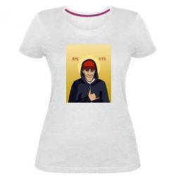 Жіноча стрейчева футболка Кровосток Шило