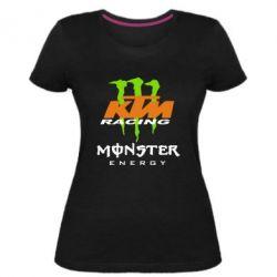 Женская стрейчевая футболка KTM Monster Enegry