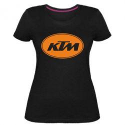 Жіноча стрейчева футболка KTM