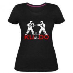 Женская стрейчевая футболка Kudo Fight