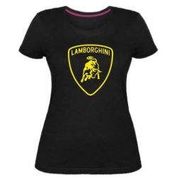 Жіноча стрейчева футболка Lamborghini Auto