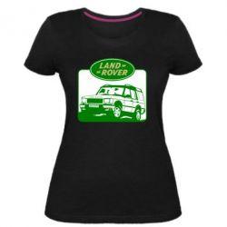Жіноча стрейчева футболка Land Rover