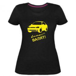 Жіноча стрейчева футболка Ланоси валять!
