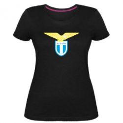Женская стрейчевая футболка Lazio