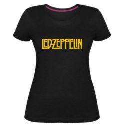 Жіноча стрейчева футболка Led Zeppelin