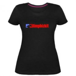 Жіноча стрейчева футболка Limp Bizkit