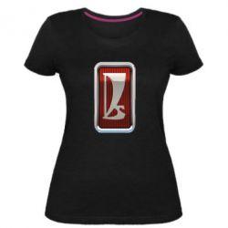 Жіноча стрейчева футболка Logo