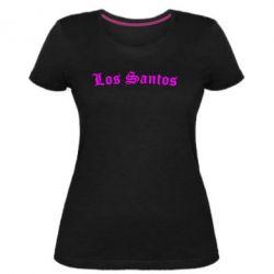 Жіноча стрейчева футболка Los Santos