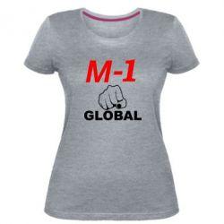 Женская стрейчевая футболка M-1 Global