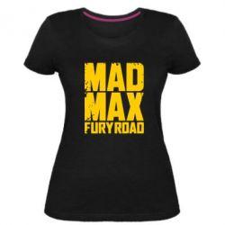 Женская стрейчевая футболка MadMax