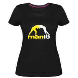 Женская стрейчевая футболка Manto