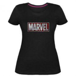 Жіноча стрейчева футболка Marvel 3D