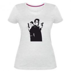 Жіноча стрейчева футболка Max Payne 2