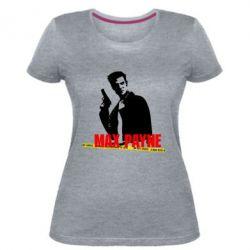 Жіноча стрейчева футболка Max Payne