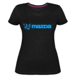 Жіноча стрейчева футболка Mazda