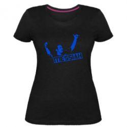 Жіноча стрейчева футболка Мессі