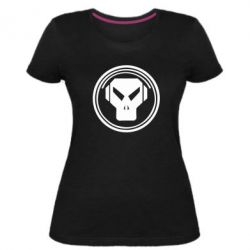 Жіноча стрейчева футболка metalheadz