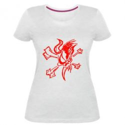 Жіноча стрейчева футболка Metallica Страшний Хлопець