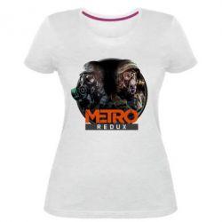 Женская стрейчевая футболка Metro: Redux