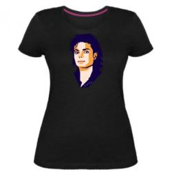 Жіноча стрейчева футболка Michael Jackson Graphics Cubism