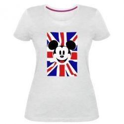 Жіноча стрейчева футболка Mickey Swag